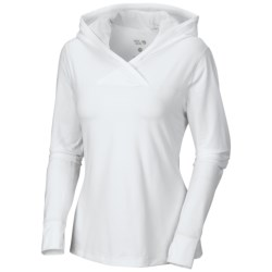 Mountain Hardwear Butter Topper Hooded Shirt - Long Sleeve (For Women)