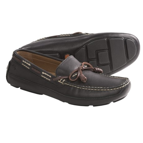 Tommy Bahama Pompai Driving Moccasins - Leather, Slip-Ons (For Men)