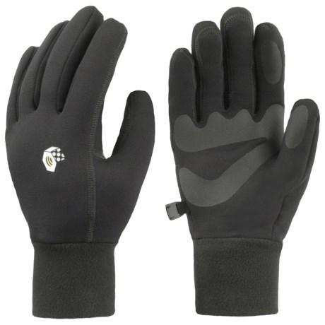 Mountain Hardwear Heavyweight Power Stretch Gloves - (For Men)