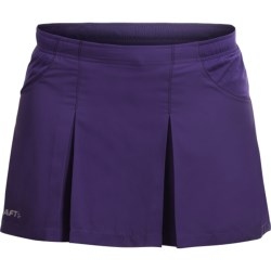 Craft Sportswear Active Run Skirt - Built-In Shorts (For Women)
