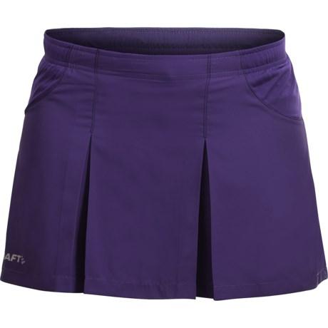 Craft Sportswear Active Run Skirt - Built-In Shorts (For Women)