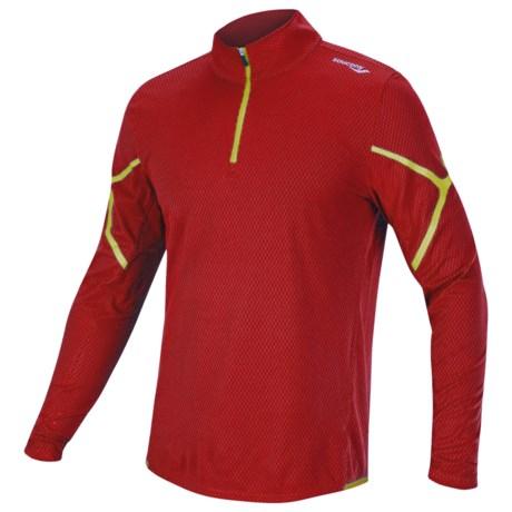 Saucony Transition Sportop Shirt - Zip Neck, Long Sleeve (For Men)