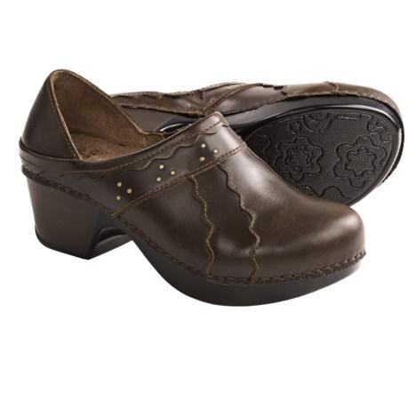 Dansko Hailey Shoes - Leather, Slip-Ons (For Women)