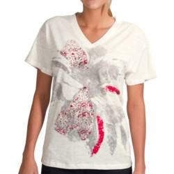 Lole Juliette Shirt - Organic Cotton, V-Neck, Short Sleeve (For Women)