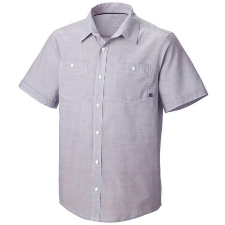Mountain Hardwear Caskin Shirt - Short Sleeve (For Men)