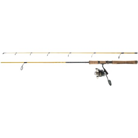 """Eagle Claw Powerlight Spinning Rod and Reel Combo - 2-Piece, 6'6"""", 4-10 lb. Test"""