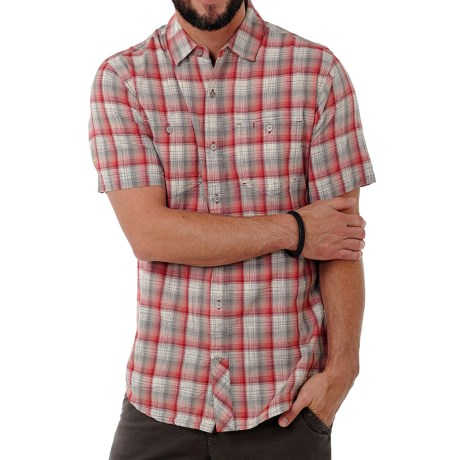 Toad&Co Horny Toad Smythy Plaid Shirt - Short Sleeve (For Men)