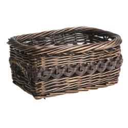 Better Homes & Gardens Rectangular Willow Basket