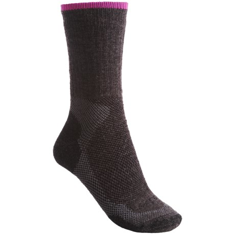 Lorpen Midweight Hiking Socks - Merino Wool, Crew, 2-Pack (For Women)