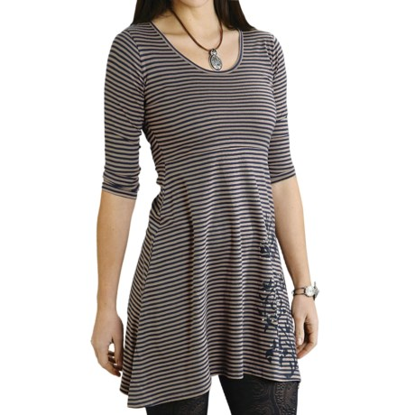 Roper Ranch Couture Dress - Scoop Neck, 3/4 Sleeve (For Women)