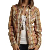 Studio West Autumn Muse Shirt - Snap Front, Long Sleeve (For Women)