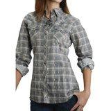 Studio West Plaid Shirt - Long Sleeve (For Women)