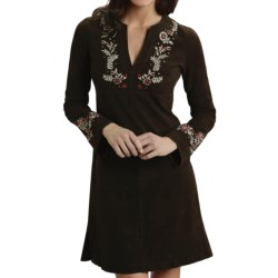 Stetson Suede Dress - Long Sleeve (For Women)