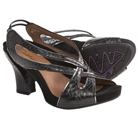 Earthies Tambolini Heeled Sandals - Leather (For Women)