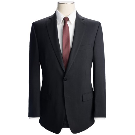 Calvin Klein Solid Wool Suit - Slim Fit (For Men)