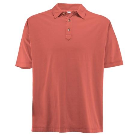 White Sierra Trinidad Falls Polo Shirt - Short Sleeve (For Men)