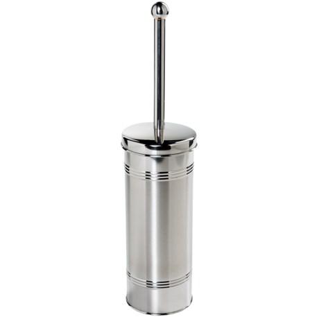 OGGI Stainless Steel Toilet Brush and Holder