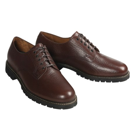 H.S. Trask Gallatin Shoes - Bison Leather Oxfords (For Men)