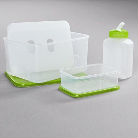 OGGI Chill-To-Go Lunch Box Set - 4-Piece