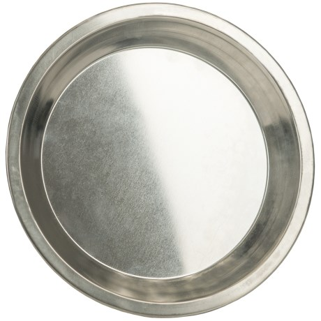 "Jacob Bromwell Golden Era Pie Plate - 9"", Aluminum"