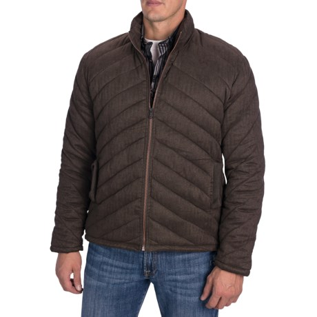 Comstock & Co. Quilted Microfiber Bubble Jacket (For Men)