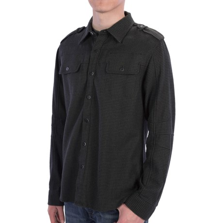 Comstock & Co. Wool Blend Shirt - Long Sleeve (For Men)