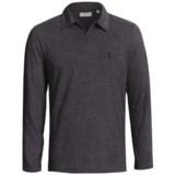 Comstock & Co. Knit Polo Shirt - Zip Neck, Long Sleeve (For Men)