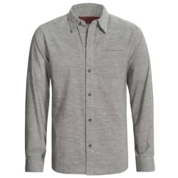 Comstock & Co. Heather Corduroy Shirt - Long Sleeve (For Men)