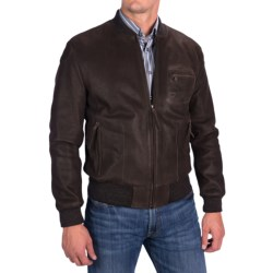 Comstock & Co. Waxed Goatskin Jacket (For Men)