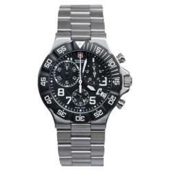 Victorinox Swiss Army Summit XLT Chronograph Watch - Stainless Steel Bracelet (For Men)
