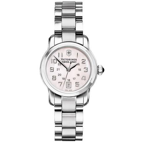 Victorinox Swiss Army Vivante Watch - Stainless Steel Bracelet (For Women)