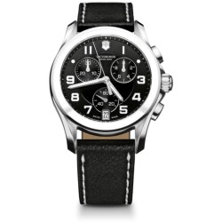 Victorinox Swiss Army Chrono Classic Watch - Ceramic Bezel (For Women)