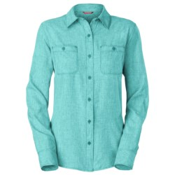 The North Face Nada Mucho Woven Shirt - Chambray, Long Sleeve (For Women)