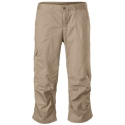 The North Face Bishop Capris - UPF 50, Cotton (For Women)