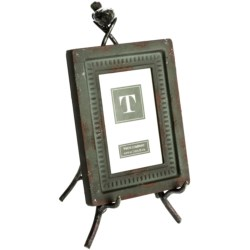 Two's Company Garden Views Easel Photo Frame - 4x6""