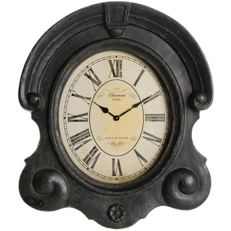 Two's Company Charmont Ornate Wall Clock