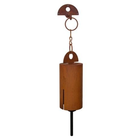 """Woodstock Chimes Metalworks Bell Heroic Wind Chime - 33"""""""