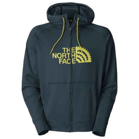 The North Face Chain Ring Hoodie Sweatshirt - UPF 50, Full Zip (For Men)