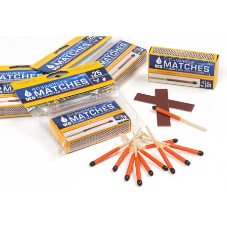 UCO Gear UCO Stormproof Matches - 4-Pack