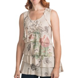 FDJ French Dressing Ruffled Tank Top (For Women)