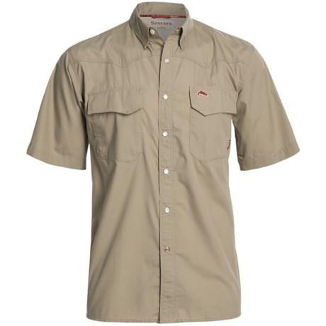 Simms Bozeman Shirt - UPF 30+, Short Sleeve (For Men)