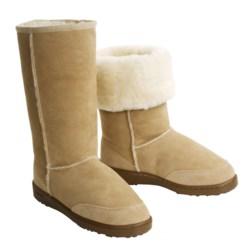 Acorn Sheepskin Aussie Boot - Tall (For Women)