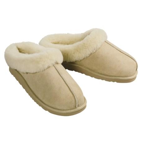 Acorn Klog Slippers - Sheepskin (For Women)
