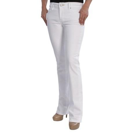 Worn Jenny Jeans - Bootcut Leg, Low Rise (For Women)