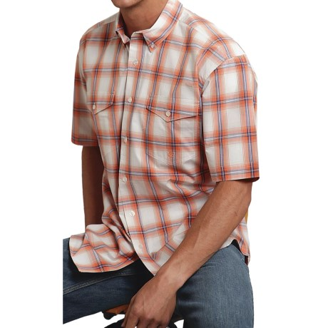 Roper Plaid Button-Front Shirt - Short Sleeve (For Men)