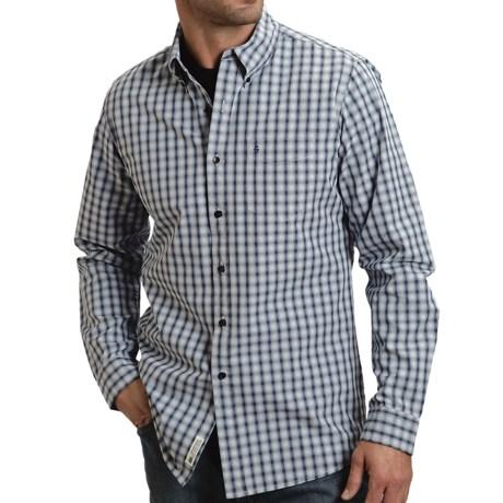 Stetson Mini Ombre Reverse Plaid Shirt - Long Sleeve (For Men)