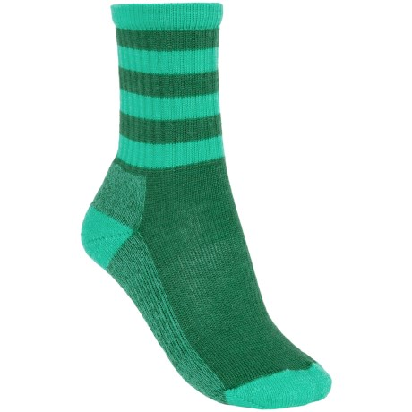 SmartWool Outdoor Striped Socks - Merino Wool, Crew (For Women)