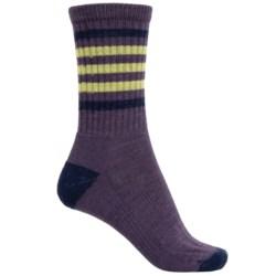 SmartWool Outdoor Striped Socks - Merino Wool, Crew (For Women)