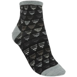 SmartWool Tri Ombre Socks - Merino Wool, Quarter-Crew (For Women)