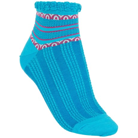 SmartWool Splendor Socks - Merino Wool, Quarter Crew (For Women)